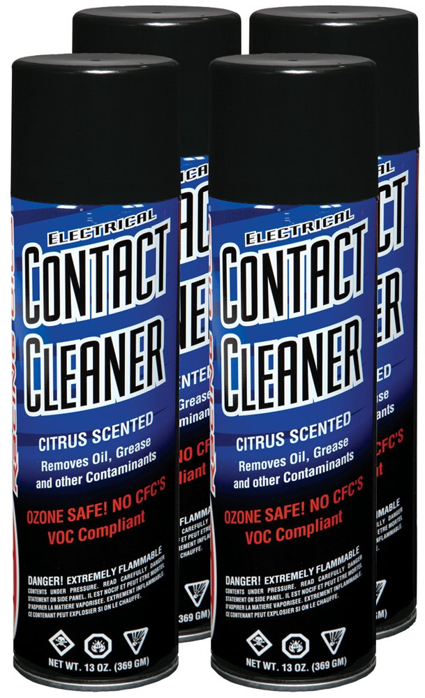 Maxima 72920-4PK Electrical Contact Aerosol Cleaner, 52 fl. oz., 4 Pack