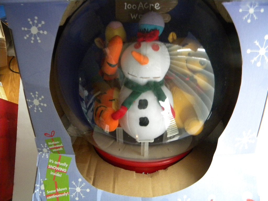 Disney Snow Globe Winnie the Pooh Tigger再生音楽 B006NOMX4S  - -