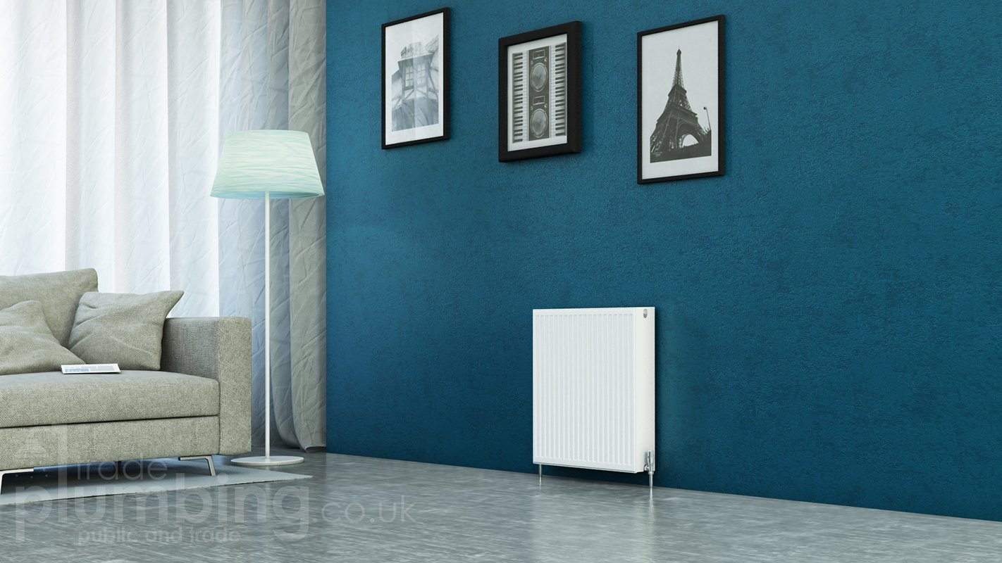 Kartell Kompact Type 22 Double Panel Double Convector Radiator 600mm ...