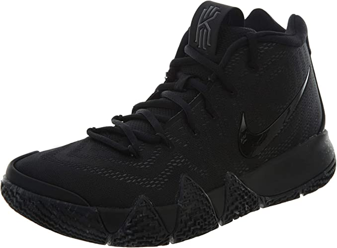 black kyrie 4s
