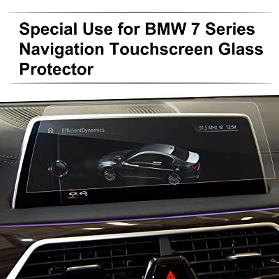 LFOTPP Tempered Glass Car Navigation Infotainment Center Touch Screen Protector for New 2016-2020 7 Series G11 G12 Screen