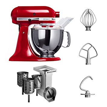 Amazon.de: Kitchenaid KSM150PSEER + MVSA Kitchenaid 5KSM150PSEER ...