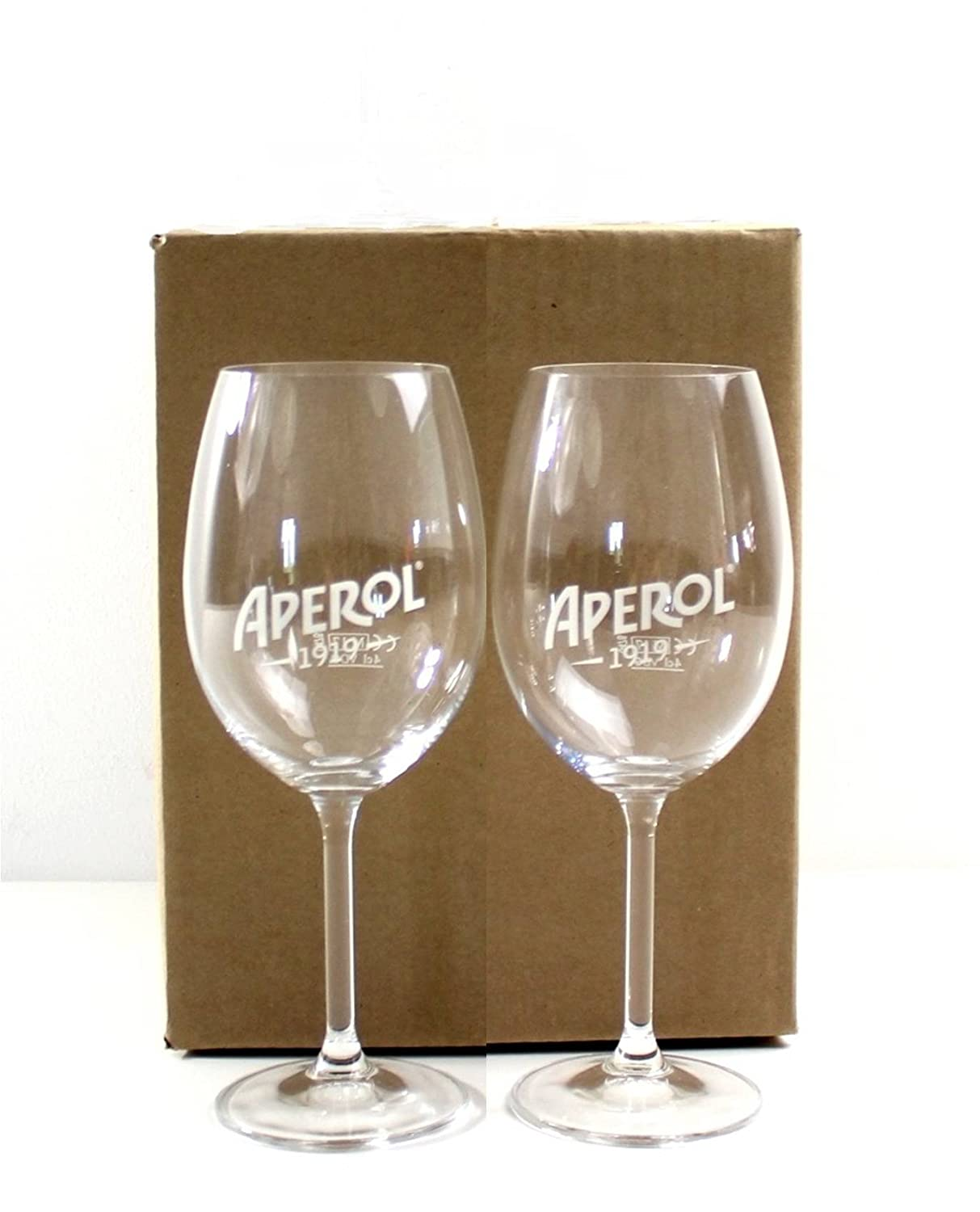 APEROL Set - 2 x APEROL / Wine / Cocktail Glasses ~mn 27 1012