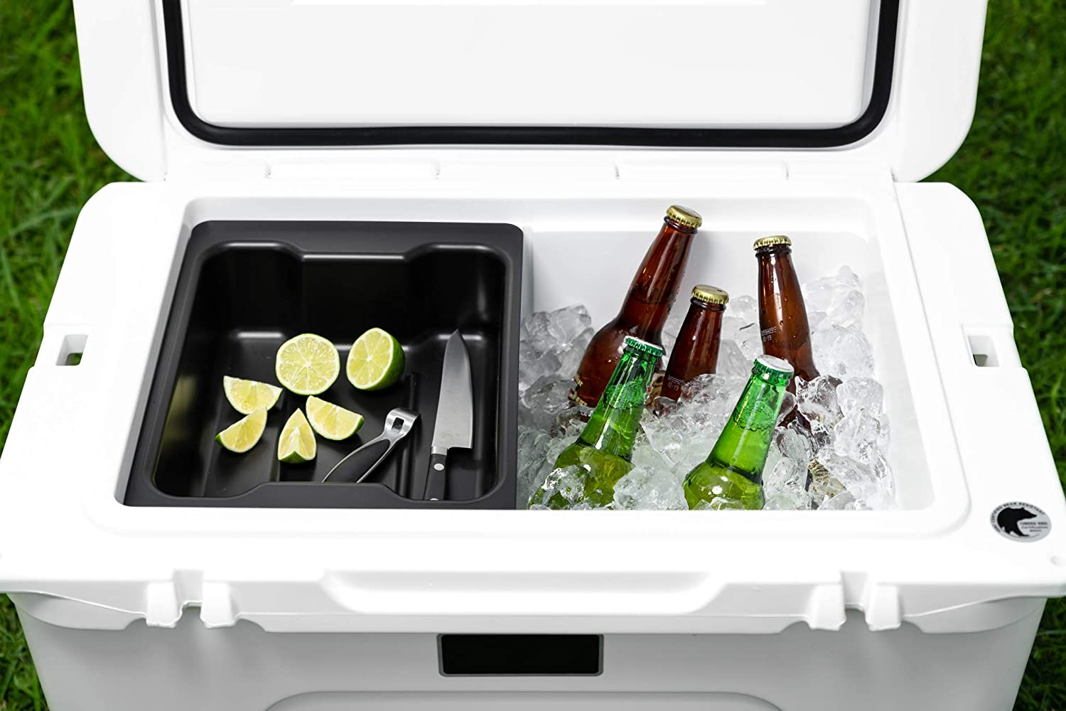 Dry Goods Tray for Yeti Tundra Haul Cooler - Specifically Designed to Work with The New Yeti Haul Wheeled Cooler