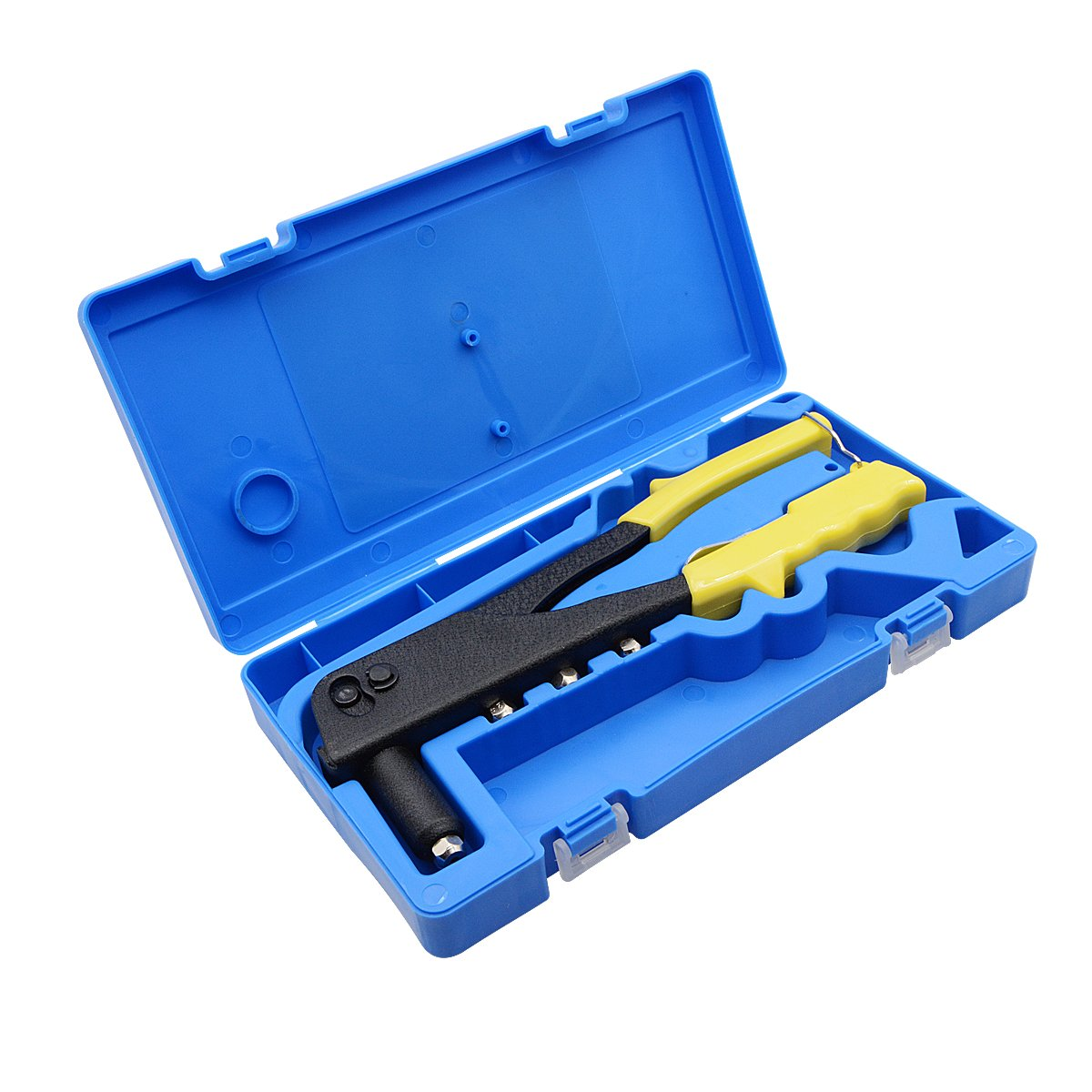 Penck Professional Pop Rivet Gun Kit, Hand Repair Tools Riveter, Heavy Duty Hand Riveter Set for Sheet Metal, Automotive and Duct Work(100 PCS Metal Rivets Included) by Penck (Image #5)