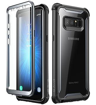 i-Blason Funda Samsung Galaxy Note 8 [Ares] 360°Full Body Fundas Carcasa Transparente con Protectores de Pantalla Incorporados para Samsung Galaxy ...