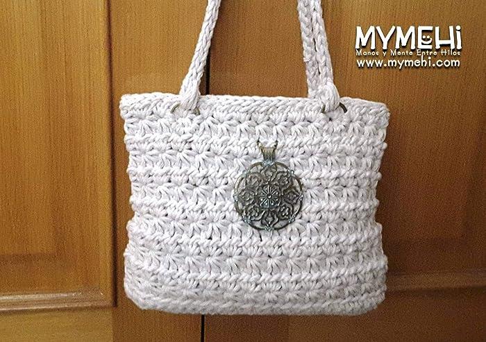 Bolso hecho a mano, tote bag diseño exclusivo, pieza única ...