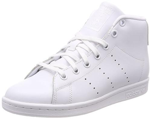 961c9053 adidas Stan Smith Mid J, Zapatillas Altas Unisex Niños: Amazon.es: Zapatos  y complementos