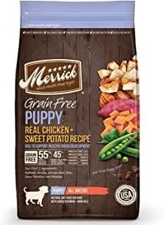 product image for Merrick Grain Free Dry Dog Puppy Recipe