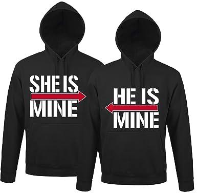 Partner Pullover Weihnachten.Se Creation He Is Mine She Is Mine Partner Look Pullover
