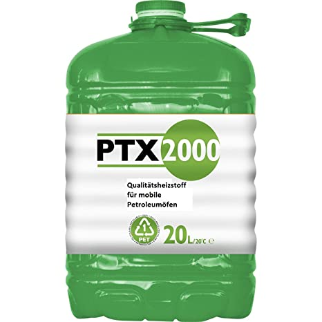 PTX2000 - Bidón de queroseno de 20 l, para estufa portátil ...