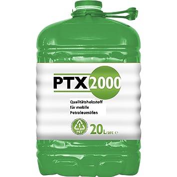 PTX2000 - Bidón de queroseno de 20 l, para estufa portátil - Zibro, Inverter, Kero, Petromax: Amazon.es: Jardín