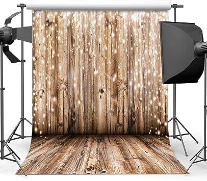 Amazon Com Dudaacvt 5x7ft Rustic Wood Vinyl Photography Backdrop Nostalgia Wood Floor Photo Backdrop Wedding Birthday Background Studio Props M001 Camera Photo