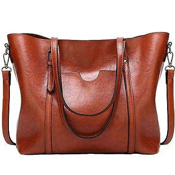7ee56d99a7433 Frauen Wasserdichte Damen Umhängetasche Henkeltaschen Tasche Schultertasche  Shopper Satchel Handtaschen Tote Shoulder Bag