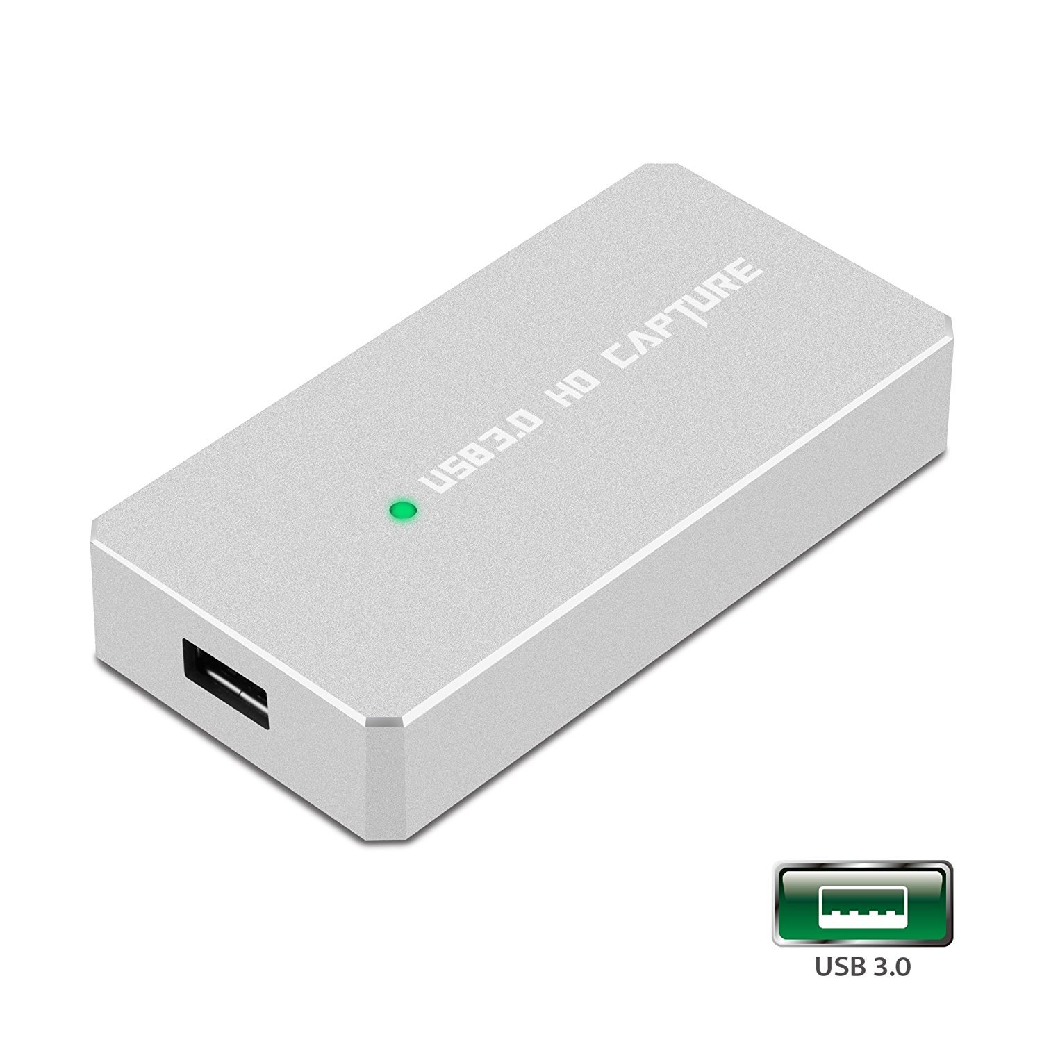 Y&H HDMI Game Capture Card USB 3.0 HD 1080P Video Capture with OBS for Live Video Streaming for PS3 PS4 Xbox One 360 Wii U,Compatible with Windows Linux Os X System【Metal Shell】