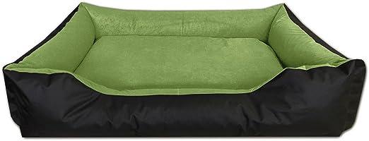 Comprar BedDog® LUPI colchón para Perro S hasta XXXL, 24 Colores, Cama para Perro, sofá para Perro, Cesta para Perro, XXL Negro/Verde