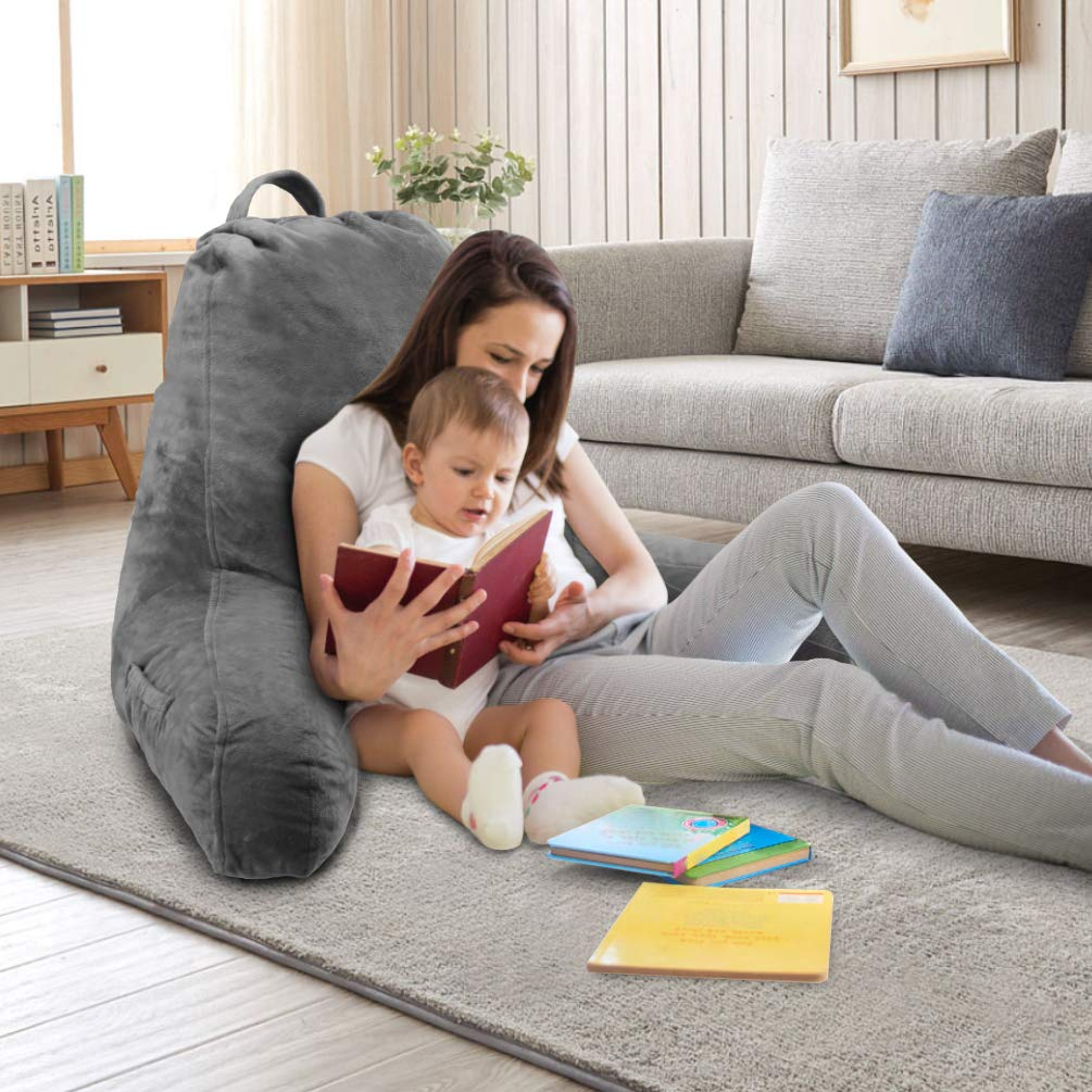 Watching TV Springcoo Reading Pillow-Shredded Foam TV Pillow with Removable Cover-Great Support for Reading Relaxing
