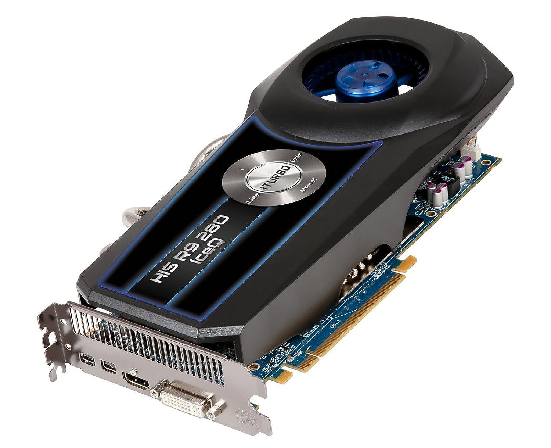 HIS H280QC3G2M Radeon R9 280 3GB GDDR5 - Tarjeta gráfica (Radeon R9 280, 3 GB, GDDR5, 384 bit, 4096 x 2160 Pixeles, PCI Express x16 3.0): Amazon.es: ...