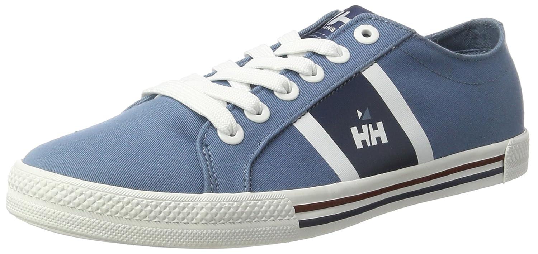 Helly Hansen Berge Viking Low, Zapatillas de Vela para Hombre (Azul/Gris) 44 EU 10764