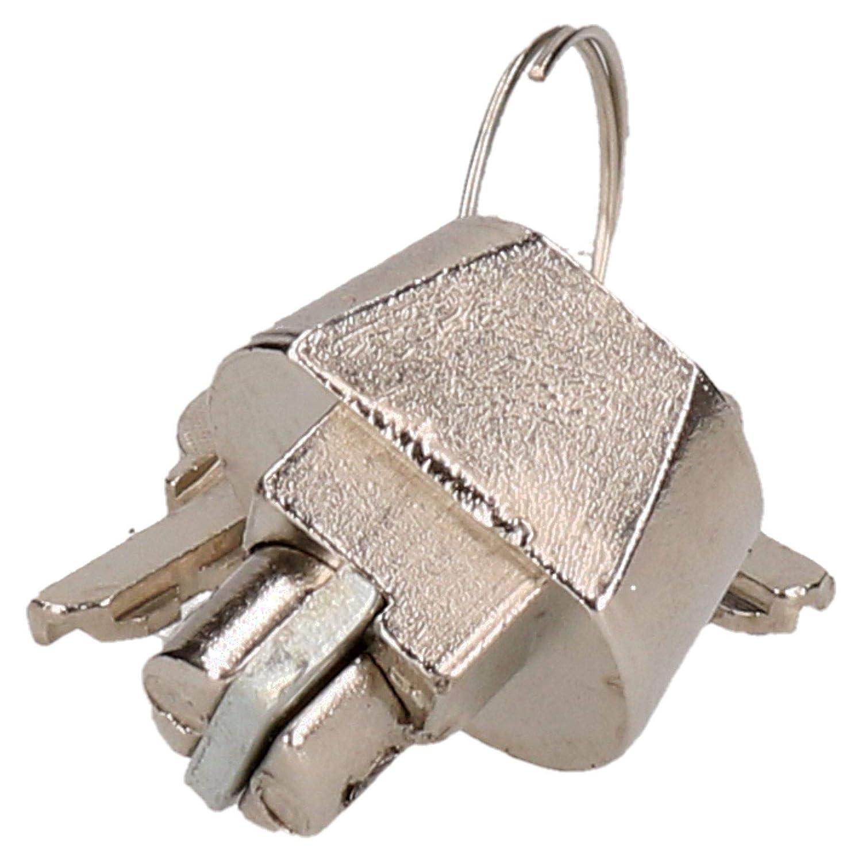 AB Tools-Indespension Enganche Remolque Bloqueo Seguridad para acoplamientos Moldeada Knott 2 Llaves