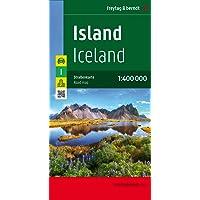 Islandia, mapa de carreteras. Escala 1:400.000. Freytag & Berndt.: Wegenkaart 1:400 000: AK 9701 (Auto karte)