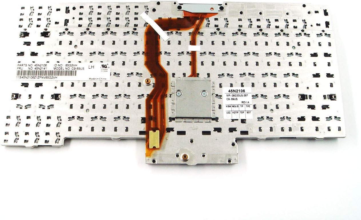 Ersatz-Teile f/ür Lenovo ThinkPad X220 X220i /& Tablet US-Tastatur 45N2141 45N2211 45N2071