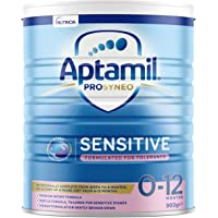 Aptamil Prosyneo Sensitive Baby Infant Formula Formulated for Tolerance from Birth to 12 Months, 900 g