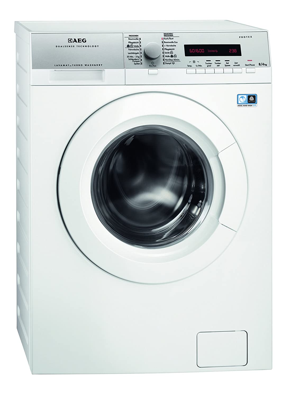 Scenery bild tvättmaskin med torktumlare