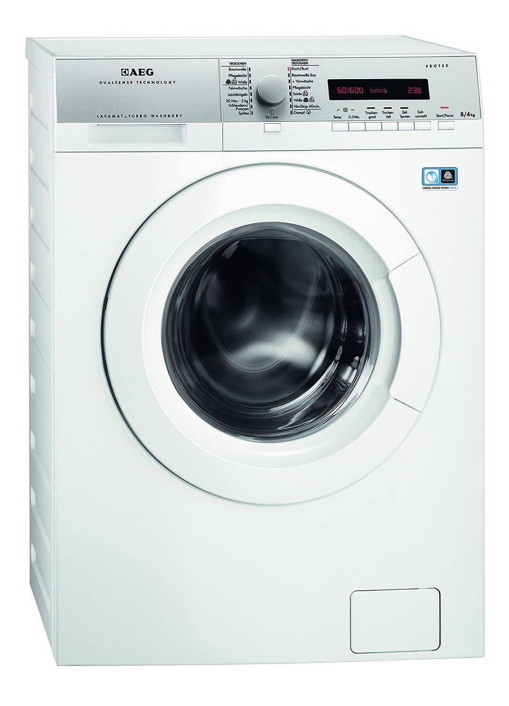 Szeneriebild Waschmaschine mit Trockner