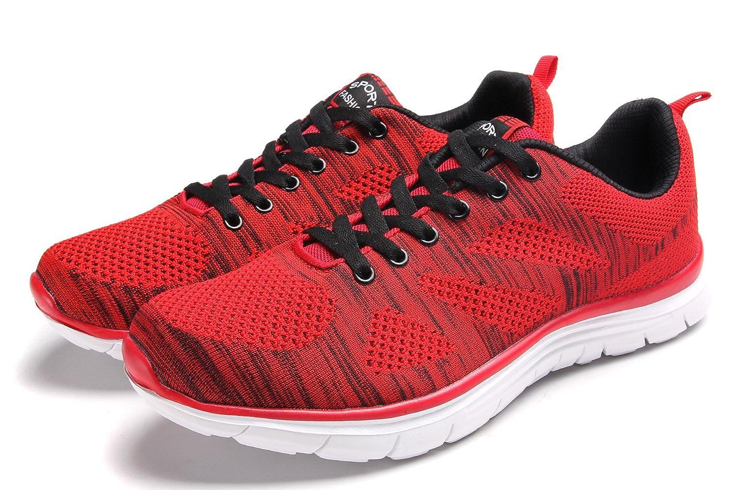 Clapzovr Hombre Mujer Zapatillas Deporte Zapatos para Correr Athletic Cordones: Amazon.es: Zapatos y complementos