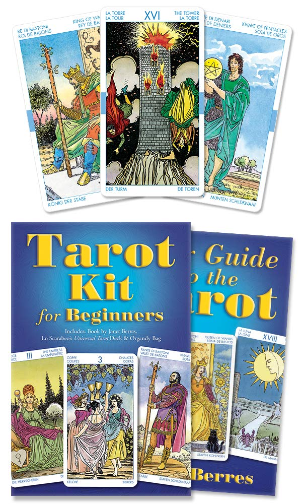 308b1b77cd4260 Tarot Kit for Beginners  Janet Berres, Llewellyn  9780738705064 ...