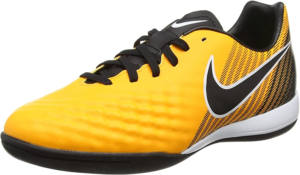 cd6bc333f Nike Youth Magista Onda II Indoor Soccer Shoes  Orange  (1Y)