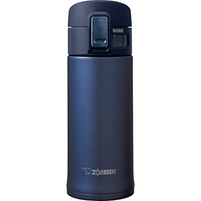 Zojirushi SM-KHE36AG Stainless Steel Mug, 12-Ounce, Smoky Blue