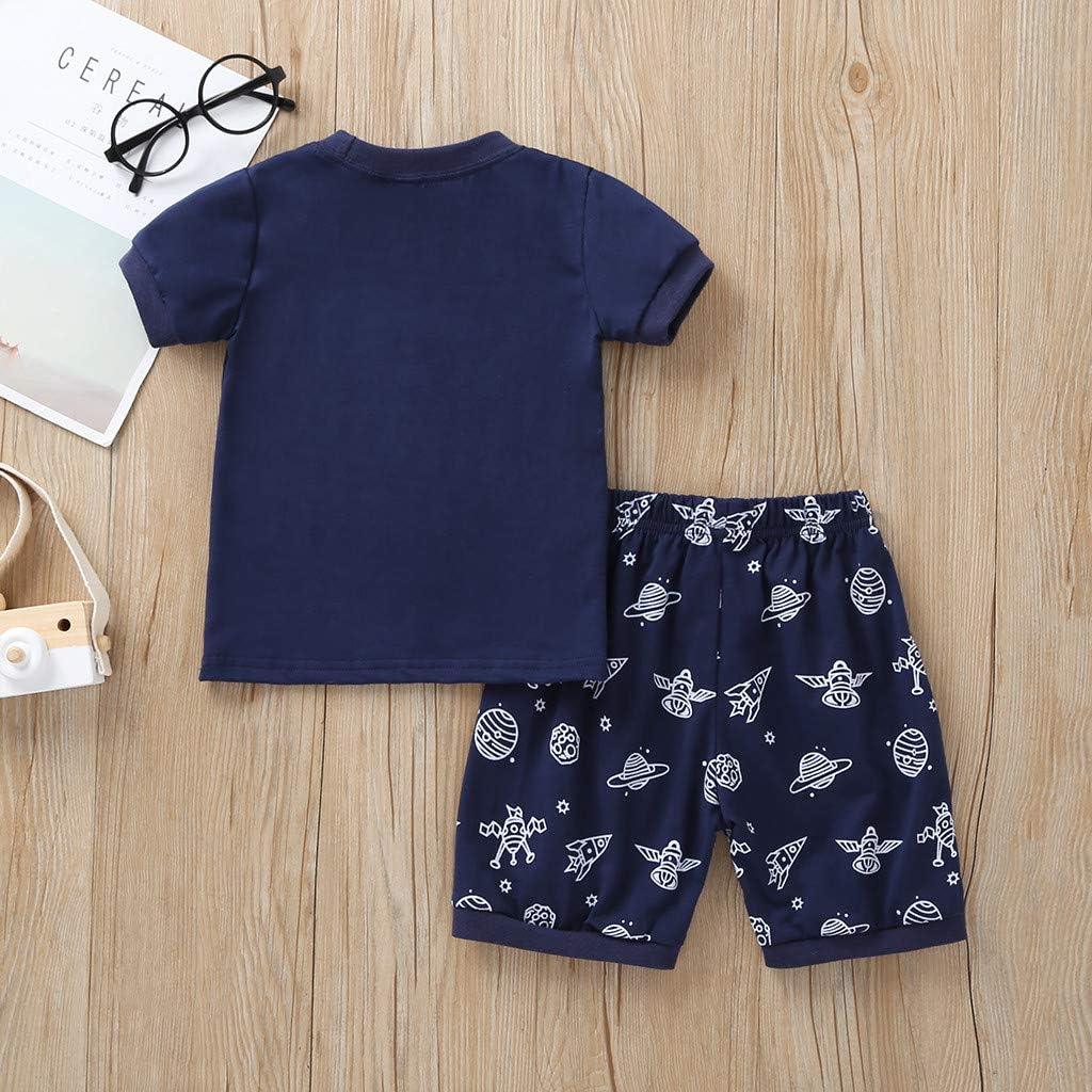 New Organic Cotton Blue Set - T-shirt, Short, Trousers 12-18 months
