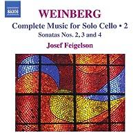 Weinberg: Cello Sonatas 2, 3, 4