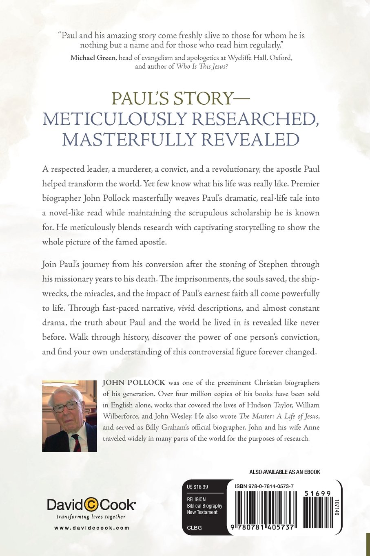 The Apostle A Life Of Paul John Pollock 9780781405737 Amazon