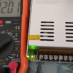 NEWSTYLE Fuente Alimentacion Transformador Interruptor DC 12V 30A ...