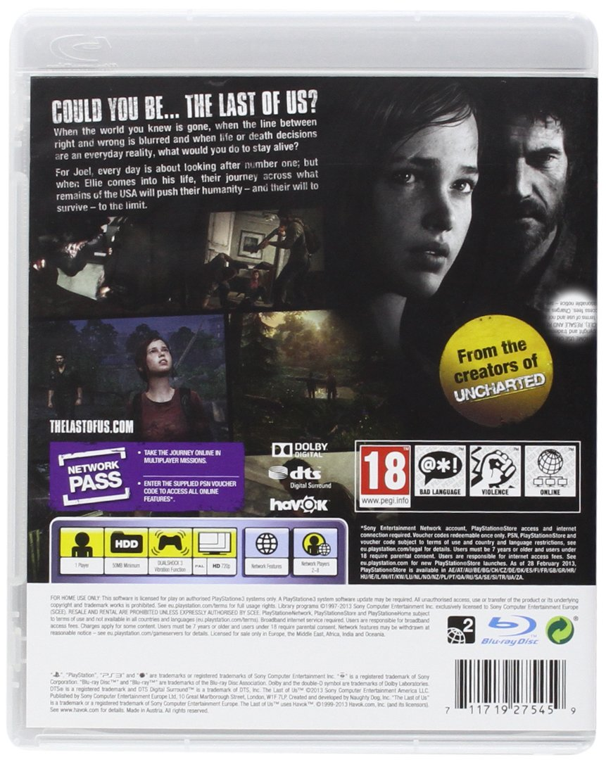 Buy The Last of Us (PS3) Online at Low Prices in India