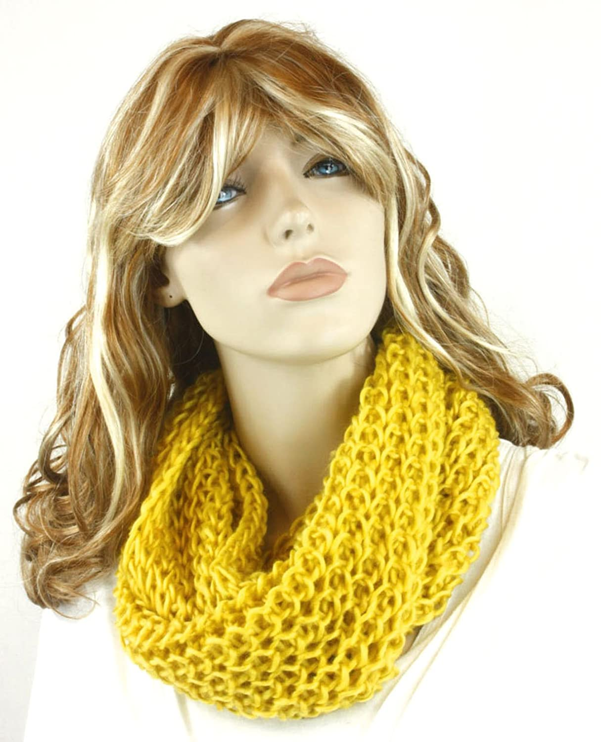 Fashion Dimensions Banana Knitted Neck Cowl Scarf