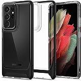 Spigen Neo Hybrid Crystal Funda Compatible con Samsung Galaxy S21 Ultra - Negro