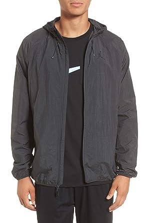 3e7b73050bf507 Nike Men s Jordan Sportswear Wings Windbreaker Jacket (Anthracite Black