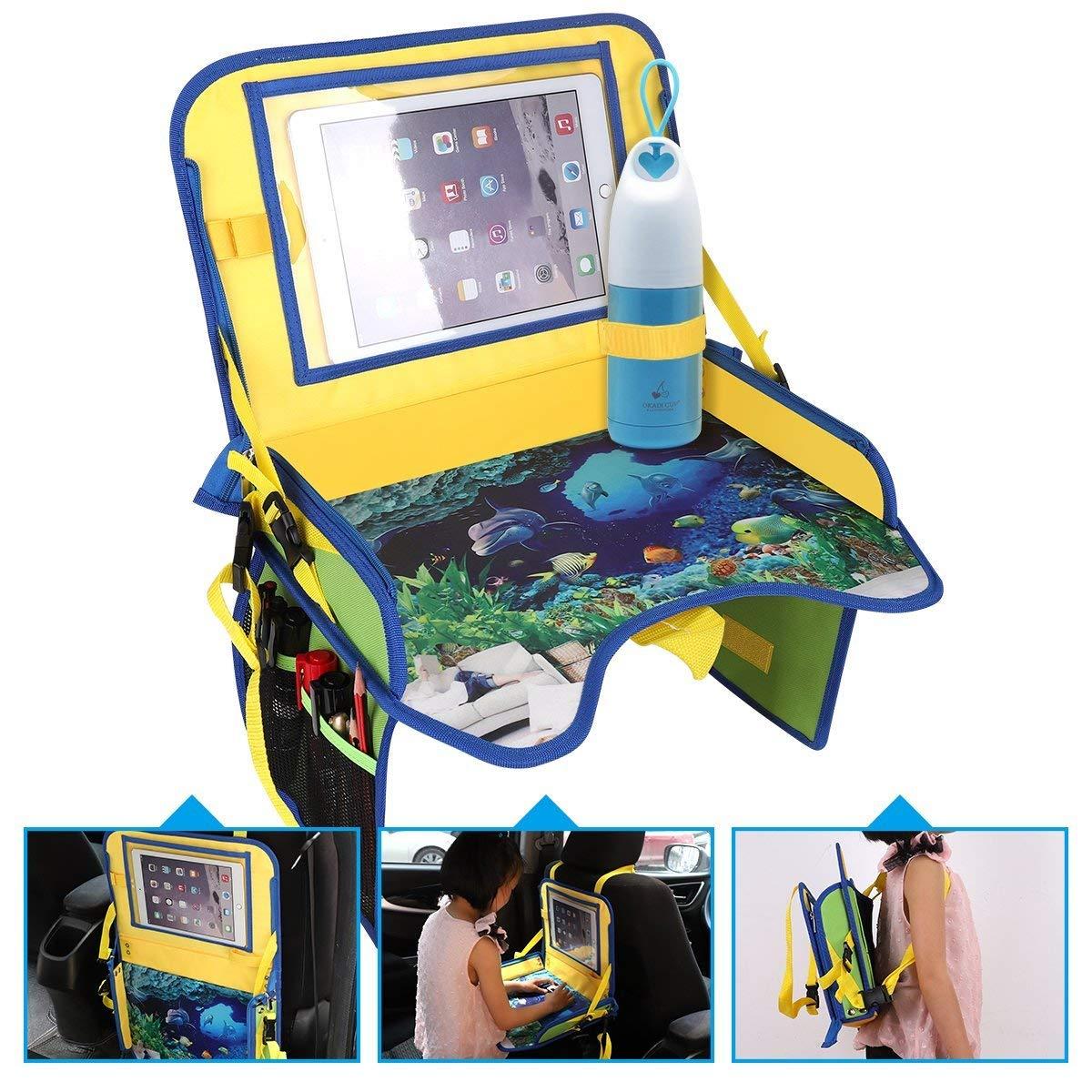 ECOOLBUY multi funzioni Kids Auto Viaggi del gioco della sede portatile cibo vano portaoggetti Passeggino Passeggino Lap regolabile