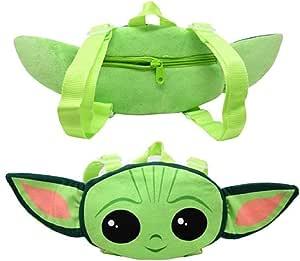 "Star Wars ""The Child Baby Yoda Head Shaped Plush Backpack 14-16"""