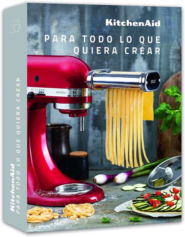 KitchenAid CCCB_SP Libro de Recetas, Rojo: Amazon.es: Hogar