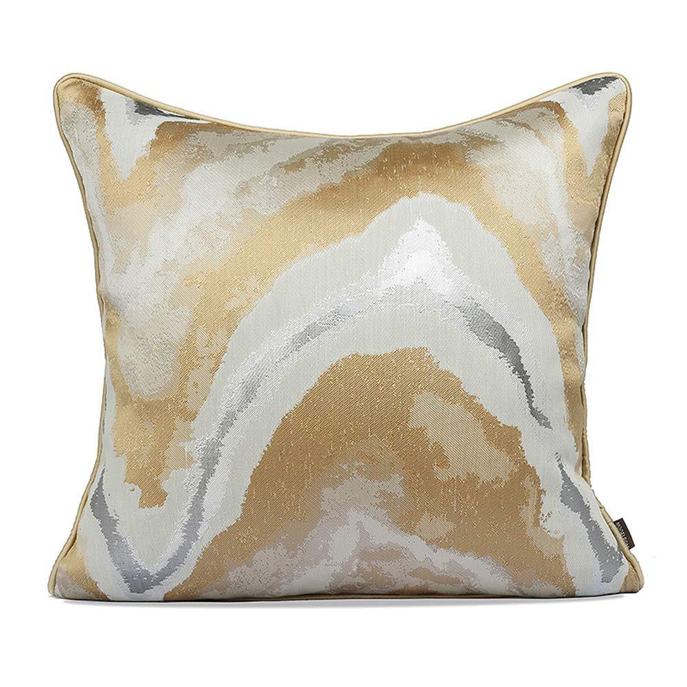 Sofa pillow Mao ZE QU Modern Minimalist American Style European Style Square Cushion Bedroom Pillowcase by Sofa pillow