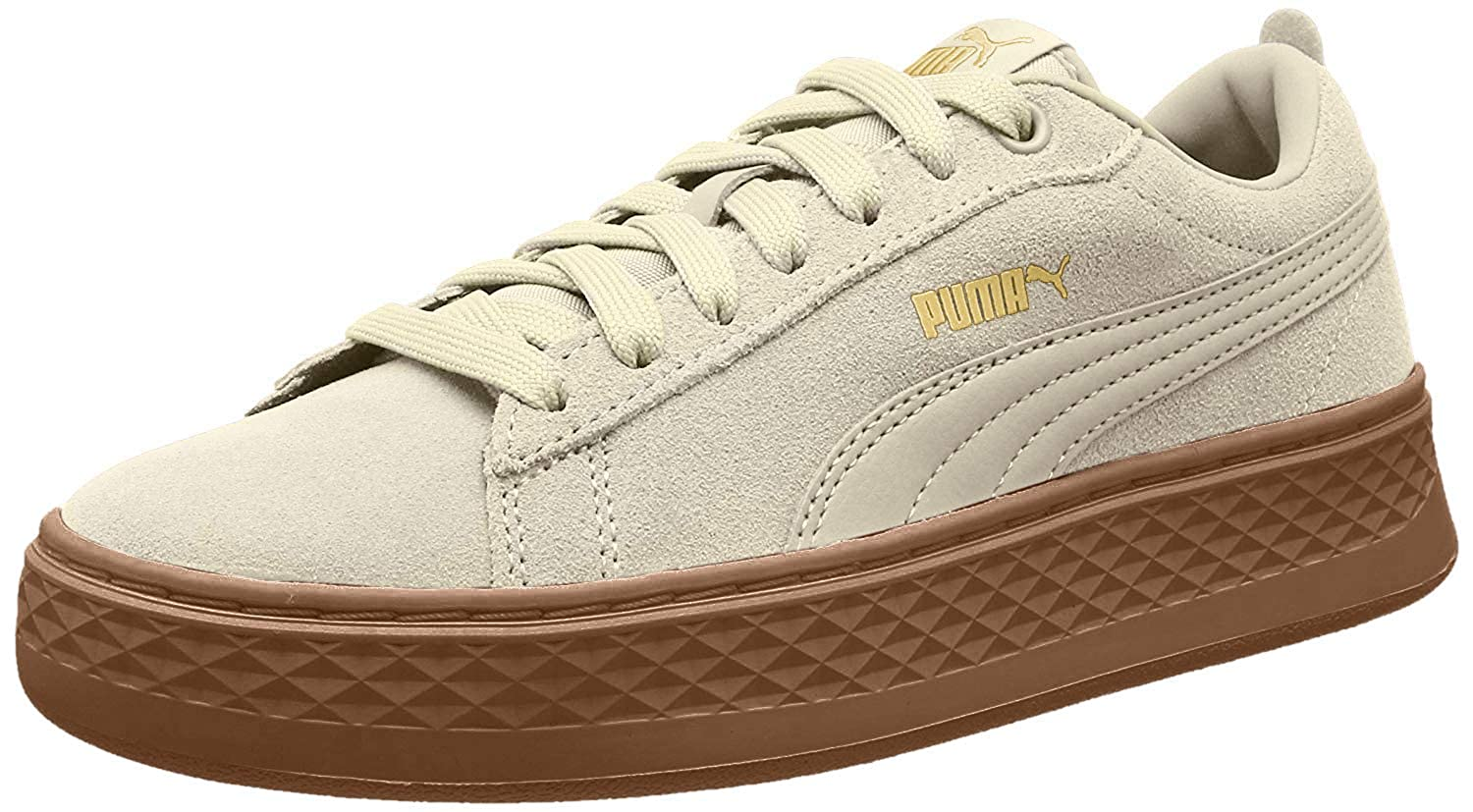 | PUMA Women's Smash Platform SD Trainers, Birch