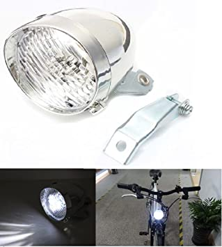 Classic 200LM LED Vintage Bike Headlight Bicycle Retro Head Light  FrontOV
