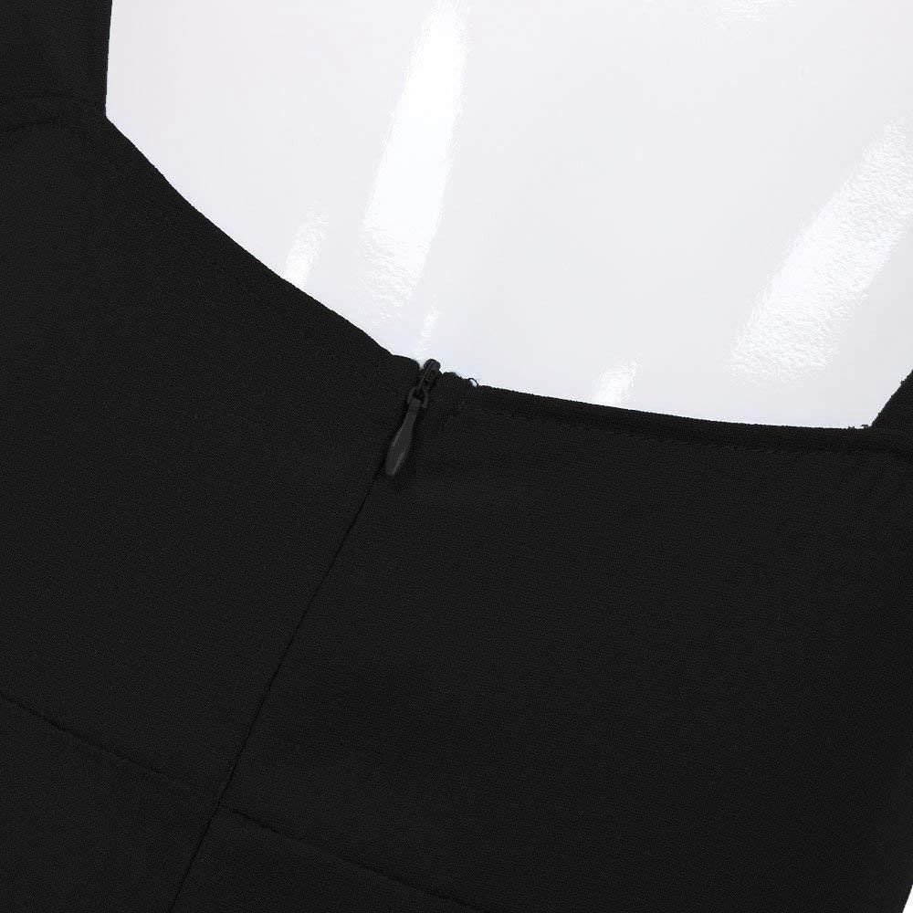 GWshop Fashion Jumpsuit Women Jumpsuits Elegant Wide Leg Summer Sexy Bow Backless Off Shoulder V Neck Rompers Black XL by GWshop (Image #5)
