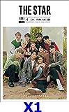 表紙:X1,CIX/THE STAR(ザ・スター) 12月号2019【4点構成】本册+ X1ポスター +X1はがき2枚/韓国雑誌//韓国歌手/k-pop/エックスワン/俳優Park Hae Soo