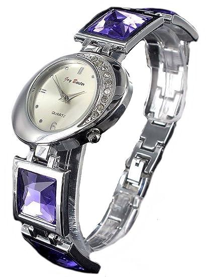 Jay Baxter joyas piedra reloj de pulsera reloj analógico Quartz Mujer: Amazon.es: Relojes